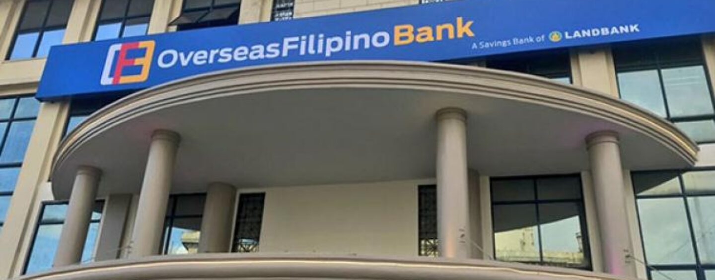State-Owned Overseas Filipino Bank to Become a Fully Digital Bank by 2020