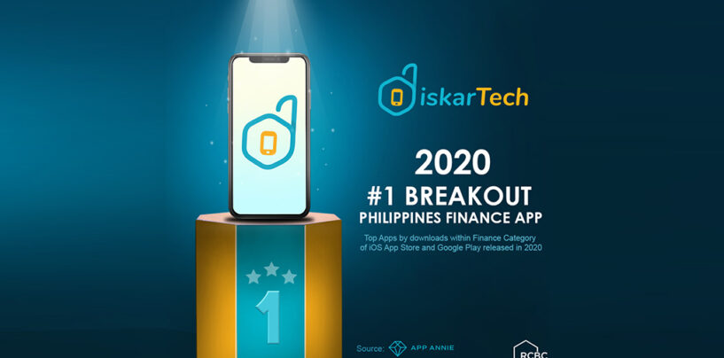 DiskarTech Ranked as the Most Downloaded Finance App in 2020